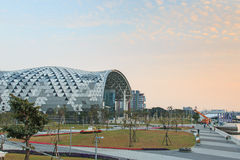 The newly opened Kaohsiung Exhibition Center Royalty Free Stock Photography