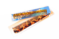Newly packed hair combs Stock Photography