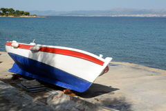 Newly painted boat Royalty Free Stock Photography