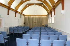 Newly Refurbished Assembly Hall  Stock Image
