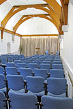 Newly refurbished auditorium Royalty Free Stock Photo