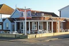Newly refurbished the royal public house Stock Image