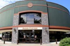 Newly renovated Fasig-Tipton facility where horses Royalty Free Stock Image