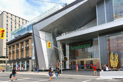 Newly renovated Rideau Centre opens to public Royalty Free Stock Image