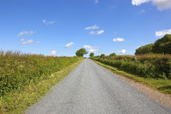 Newly surfaced rural road Royalty Free Stock Photos