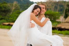 Newly Wed Royalty Free Stock Photos
