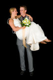 Newly wed couple Royalty Free Stock Photos