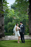 Newly Wed Couple Stock Images
