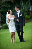 Newly Wed Couple Stock Photography