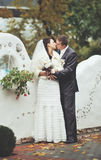 Newly wed couple. Royalty Free Stock Photography