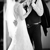 Newly wed couple Royalty Free Stock Photography