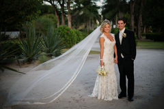 Newly Wedd Stock Images