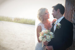 Newly Wedd royalty free stock photos