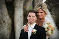 Newly Wedd Royalty Free Stock Photos