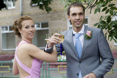 Newly Wedding Stock Photography