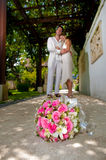 Newly Weds Royalty Free Stock Photography