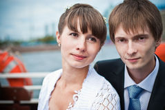 Newly-Weds Royalty Free Stock Images