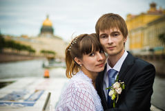 Newly-Weds Stock Photography