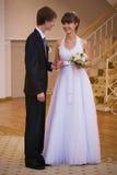 Newly-weds Royalty Free Stock Image