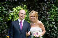 Newly weds Royalty Free Stock Images