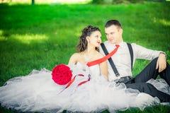Newlywed στοκ φωτογραφία με δικαίωμα ελεύθερης χρήσης