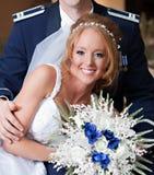 Newlywed Couple Stock Images