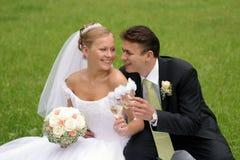 Free Newlywed Couple On Wedding Day Stock Photo - 4645040