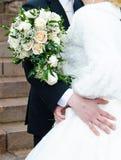 newlyweds royalty-vrije stock afbeeldingen