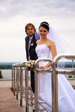 Newlyweds Royalty Free Stock Photography