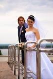 Newlyweds Fotografia de Stock Royalty Free