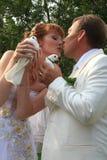 newlyweds Στοκ Φωτογραφία