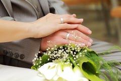 Newlyweds Stock Images