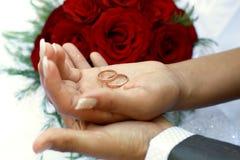 Newlyweds Stock Photography