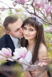 Newlyweds Stock Image