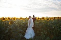 newlyweds stock afbeeldingen