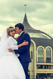 newlyweds royalty-vrije stock foto's