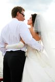 Newlyweds Royalty Free Stock Photo