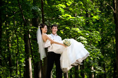 Newlyweds Royalty Free Stock Photos