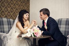 Newlyweds Royalty Free Stock Images
