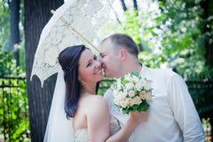 Newlyweds portrait Royalty Free Stock Photo