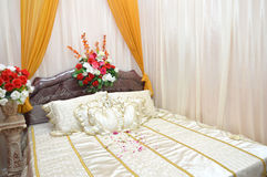 Newlyweds room Royalty Free Stock Photos