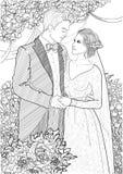 newlyweds Royalty Free Stock Photography