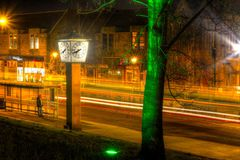 Newmarket gata Falkirk Royaltyfri Fotografi