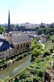 Newmunster Abbey i Luxembourg Royaltyfria Bilder