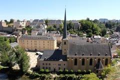 Newmunster Abbey i Luxembourg Fotografering för Bildbyråer