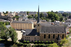 Newmunster Abbey in Luxembourg Stock Image