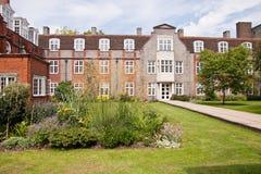 Newnham szkoła wyższa, uniwersytet w cambridge zdjęcia royalty free