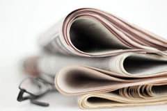 Newpapers Stock Foto
