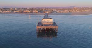 Newport Beach Californa απόθεμα βίντεο
