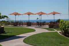Newport beach coastal villa Stock Photos